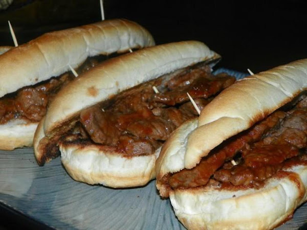 Really Easy Bbq Beef Sandwich's Recipe