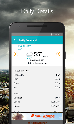 AccuWeather Free APK For Android - Free accuweather