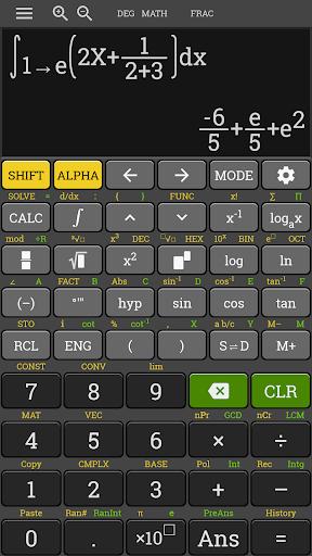 HP 35s Scientific Calculator fx 570 es plus free 3.4.6-build-02-09-2018-18-release screenshots 5