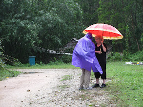 Photo: One of 3-4 photos of Leslie that capture her spirit. Shelter from the storm.
