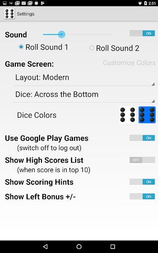 Five Dice! Free android2mod screenshots 14