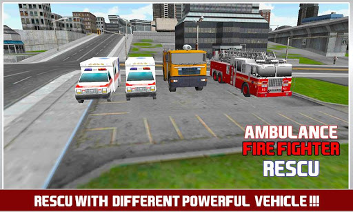 Firefighter Ambulance Rescue