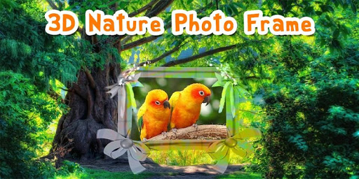 3D Nature Photo Frame