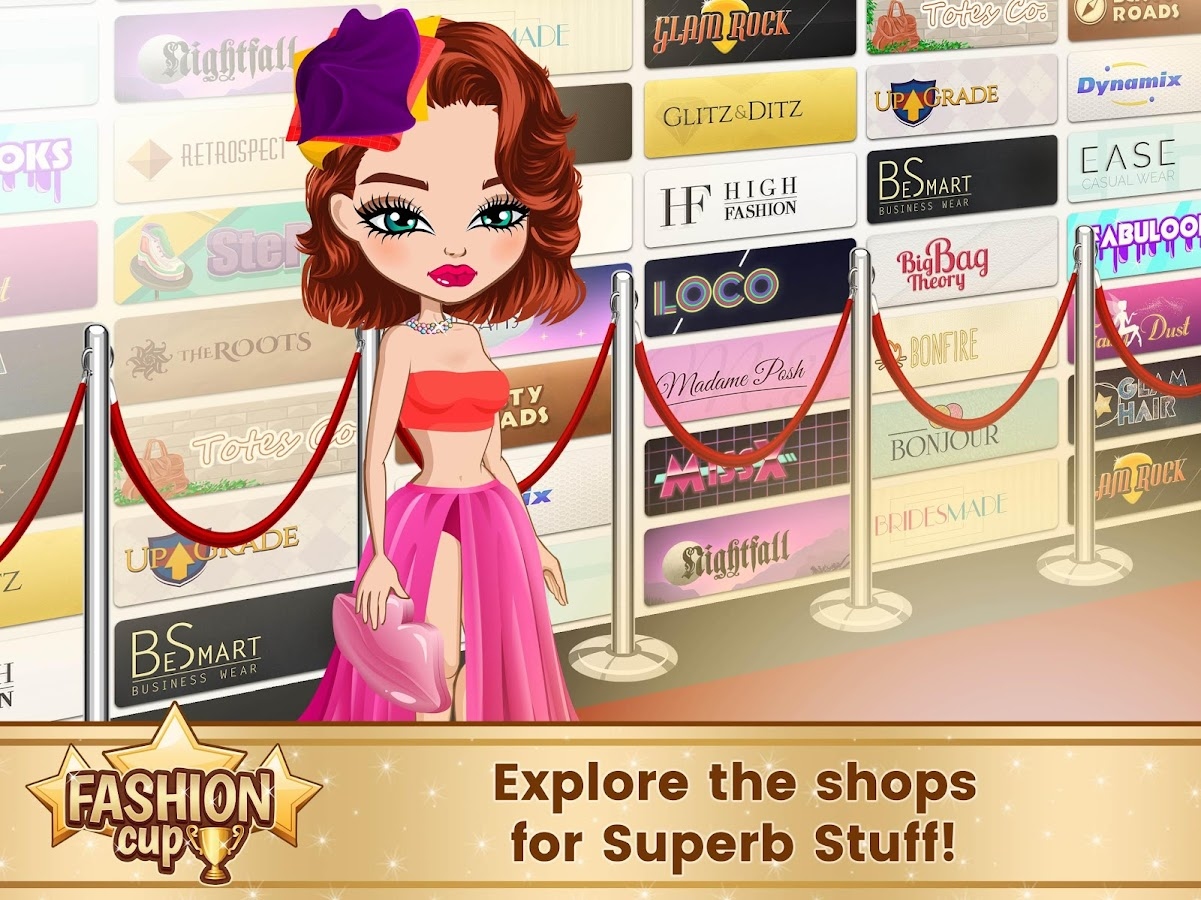 Fashion Cup - Dress up & Duel- screenshot