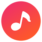 Free Music for Youtube Player: Red+ icon