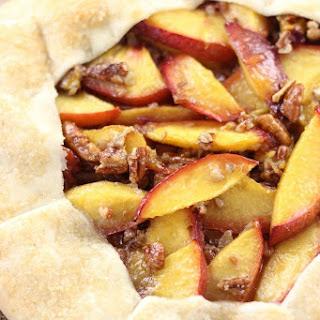 Bourbon Peach Pecan Galette