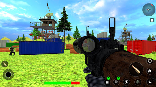 Free Survival Fire Battlegrounds: FPS Gun Shooting  screenshots 5