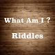 What Am I ? - 2018 Riddles (game)