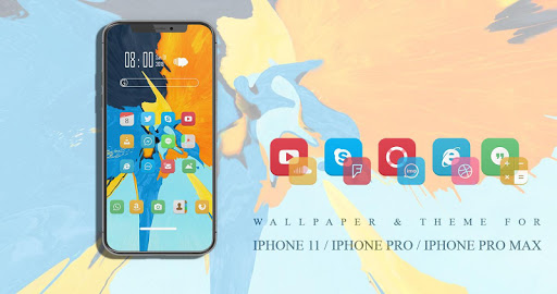 Theme-Launcher for IPHONE 11 / IPHONE 11 Pro  screenshots 1