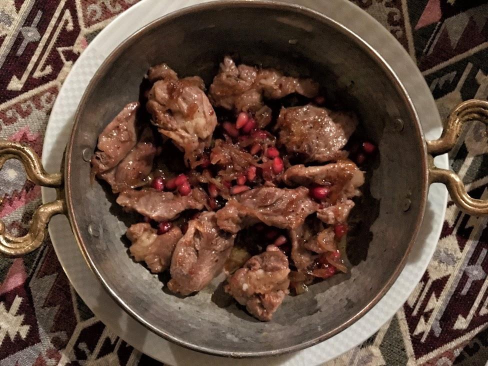 Azerbejdżan, kuchnia, Qovurma, Kovurma