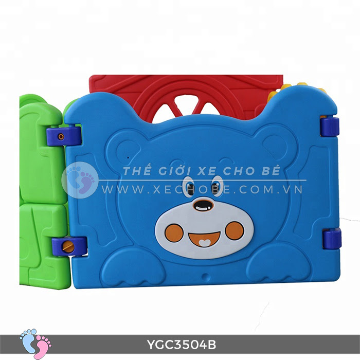 Nhà banh mini cho bé YGC-3504B 11