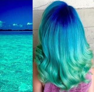 diy hair color - náhled
