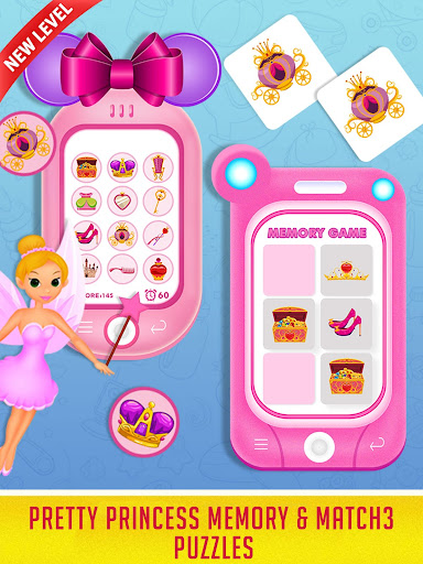 Princess Baby Phone - Kids & Toddlers Play Phone android2mod screenshots 13