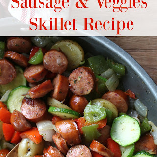Healthy and Quick Sausage and Veggie Skillet