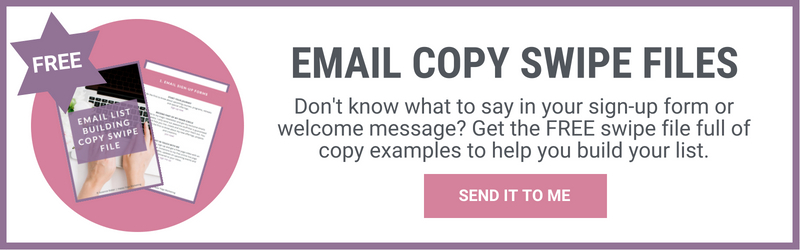Email Copy Swipe Files