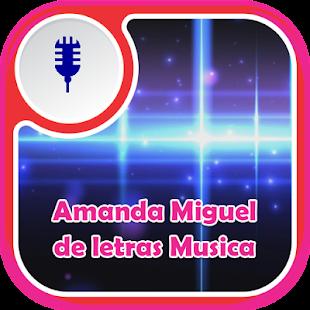 Amanda Miguel de Letras Musica - náhled