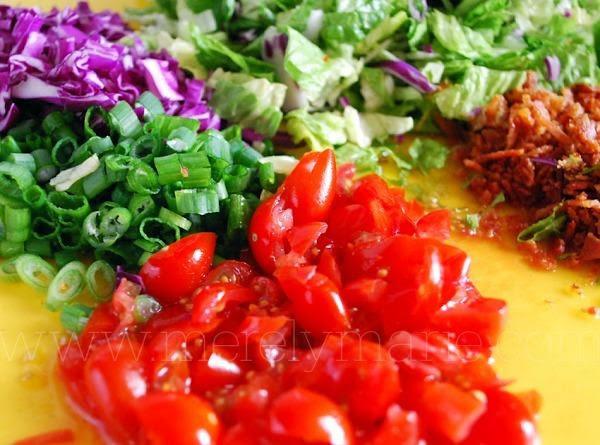 Layered Chopped Salad By Susan Recipe