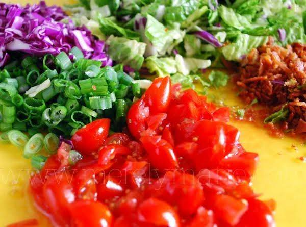 Layered Chopped Salad By Susan