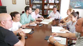 Reunión de la Junta de Gobierno Local de Adra.