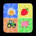 Kids Memory Matching Game Icon