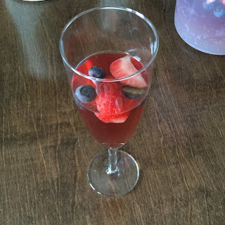Champagne & Zinfandel Punch