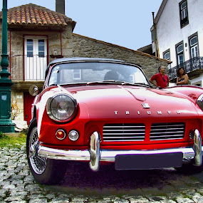 Spitfire by Ana Paula Filipe - Transportation Automobiles ( car, spitfire, red, triumph, classic,  )