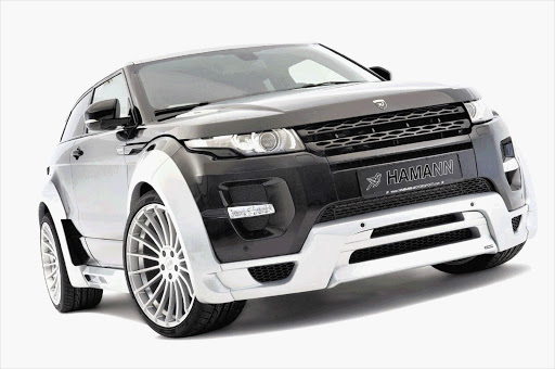 An aerodynamics package is what makes the Hamann Evoque so attractive
