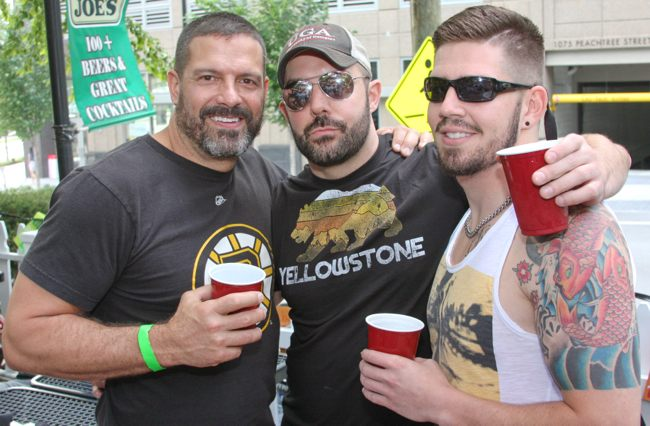 Photo: Hotlanta Softball's Wet Demons hosted their popular annual beer bust at Joe's on May 12. View the full photo album: http://projectqatlanta.com/news_articles/view/wet_demons_bust_some_beers_at_joes_photos?gid=11016