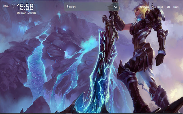 League Of Legends Wallpapers Newtab Theme