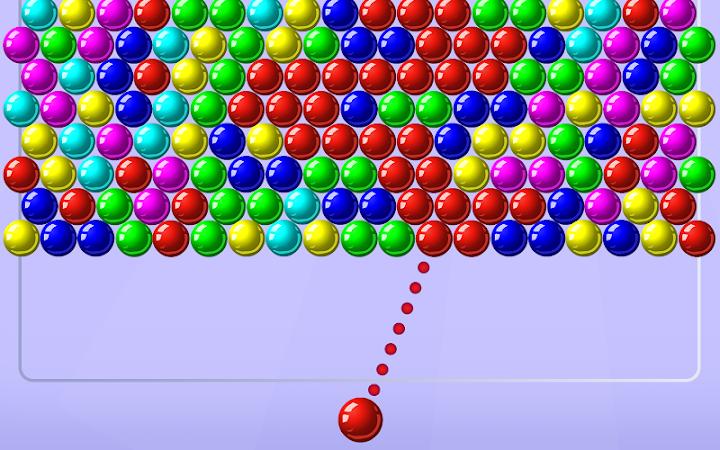 Bubble Shooter Android App Screenshot