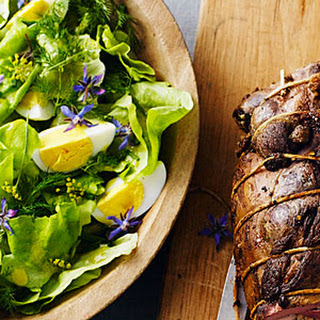Butter Lettuce and Egg Salad