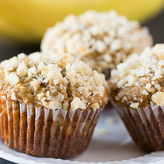 Banana-Macadamia Nut Muffins.