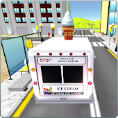 IceCream Delivery Truck Sim 3D