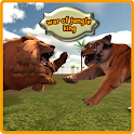 Guerre de Jungle Roi Lion Sim icon