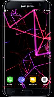 [Neon Particles 3D Live Wallpaper] Screenshot 5