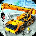 City Construction Machine 3D: Heavy Crane Driver icon