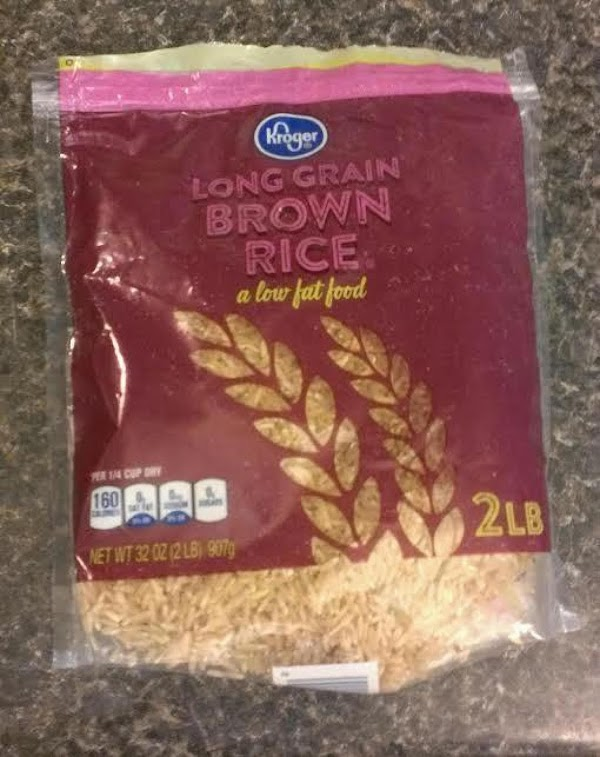 Prepare brown rice per directions on package.  I use Chicken broth and a...
