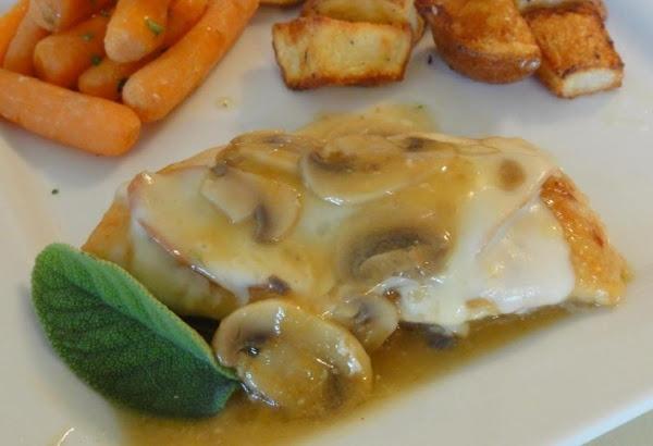 Chicken Saltimbocca With Mushrooms Recipe