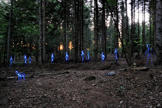Photo: UWO - Light painting by Christopher Hibbert, french photographer and light painter. Further information: http://www.christopher-hibbert.com