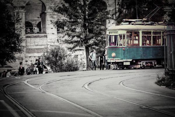 Il tram romano di un tempo di Simona Ranieri
