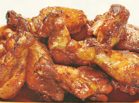 Chili Rubbed Wings Recipe