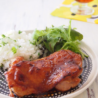Juicy Chicken Teriyaki Steak with Crispy Skin