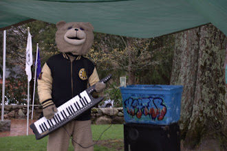 Photo: Keytar Bear
