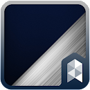 Silver Blue Launcher theme v 1.0 app icon