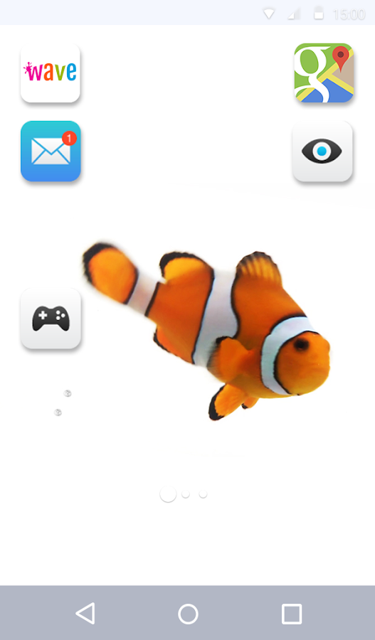 Clown Fish Live Wallpaper- screenshot