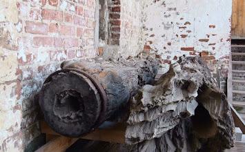 Photo: Деревянный водопровод