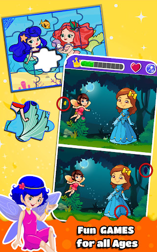 Princess Coloring Book for Kids & Girls Games ud83cudfa8 screenshots 8
