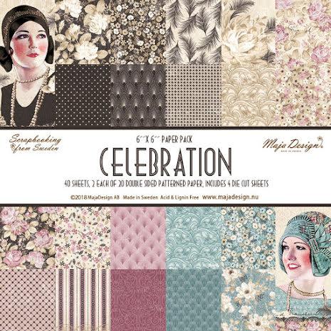Maja Design 6x6 Paper Pack - Celebration
