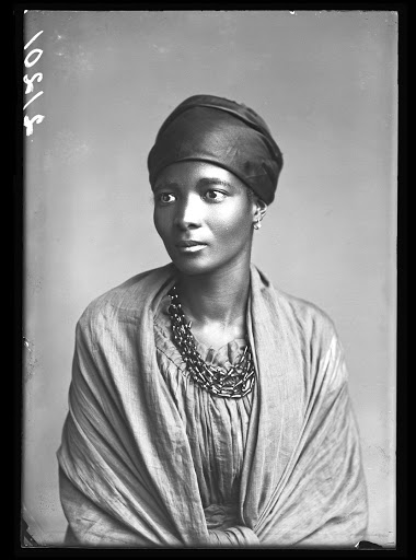 Rediscovered: Choir leader Eleanor Xiniwe was  was photographed in London during the African Choir's tour of the UK from 1891 to 1893. Picture: SUPPLIED