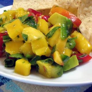 Mango Nectarine Salsa